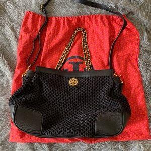 TORY BURCH adalyn crochet shoulder bag